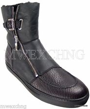 CESARE PACIOTTI US 6 LUXURIOUS SHEARLING BOOTS ITALIAN DESIGNER MENS SHOES