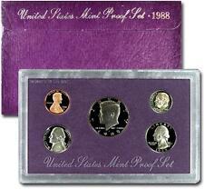 1988 United States US Mint Clad Proof Set SKU1434