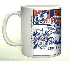 Ceramic mug featuring Marx Rin Tin Tin Fort Apache Play Set   Series 5000