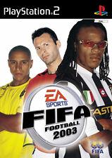 FIFA Football 2003 (Sony PlayStation 2, 2002, DVD-Box) PS 2