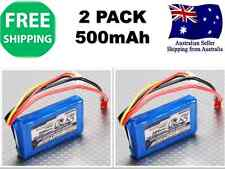 2 Pack TURNIGY 500mAh 3S 20C 11.1v JST-HX LIPO Battery RC Plane Helicopter