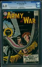 Our Army At War 83 CGC 6.0 OW Silver Age Key DC Comic 1st App Sgt Rock IGKC L@@K