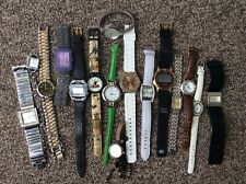 Job Lot Of Watches All Working But Some Need New Batteries