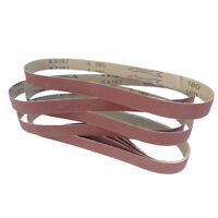 Schleifbänder 25 x 762mm Schleifband Gewebebänder Bandschleifer Körnung wählbar