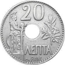 Greece 20 Lepta 1912 A KM#64 Paris Mint - George I (2880)