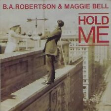 """B.A. ROBERTSON & MAGGIE BELL 'HOLD ME' UK PICTURE SLEEVE 7"""" SINGLE"""