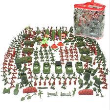 307 Soldatini in Plastica Scatola Di Soldati Per Gioco Bambini in Plastica Bimbi