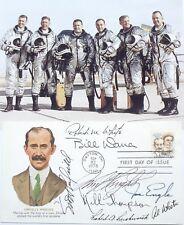 X15-Pilots [8] Autographs Cover White, Thompson, Knight, Crossfield, Dana, etc..