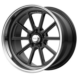 "American Racing VN510 Draft 18x8 5x4.75"" +0mm Gloss Black Wheel Rim 18"" Inch"