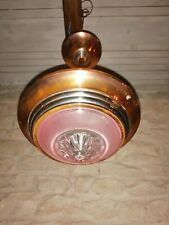 Art deco Ceiling Light Vintage French