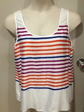 BRAND NEW WOMEN'S TOP..SIZE 16...STRIPED TANK...super soft fabric..RRP $30