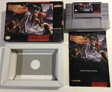 Knights Of The Round Super Nintendo SNES CIB Complete