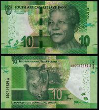 SOUTH AFRICA 10 RAND (P138) N. D. (2015) SIG. KGANYAGO  UNC