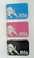 BULL BRAND TOBACCO TIN Embossed 1oz with BULL BRAND Regular Booklet