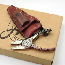 New listing Abel Reels #2 Fishing Pliers. W/ Leather Sheath. West Slope Pattern.