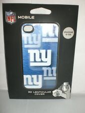 NEW YORK GIANTS NFL iPHONE 4-4S CASE 3D HARDSHELL COVER NEW IN PACKAGE