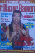 Scott Hall Razor Ramon Best of TV de catch FOOTBALL Nº 5 WWE WWF WCW journal