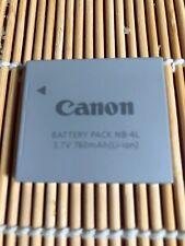 Canon NB-4L Li-Ion Camera