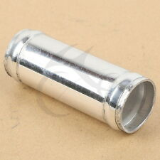"""Alloy Aluminum Hose Adapter Joiner Pipe Connector Silicone 28 mm 1.1""""inch Silver"""