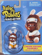 Raving Rabbids TRAVEL in TIME Limited Edition CAVEMAN mini action figure UBISOFT
