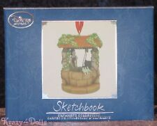 Disney Limited Release Snow White Wishing Well Sketchbook Ornament NEW!
