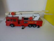 camion de pompier K-39 1979 avec nacelle, matchbox, simon snorkel  (cpl13)