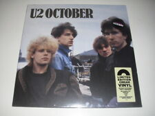 U2 October : HMV EXCLUSIVE CREAM VINYL : SEALED : Ltd to 1000 Copies