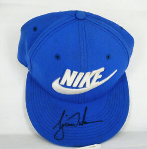Tiger Woods Autographed Nike Golf Hat - New and Unused  AG-MM