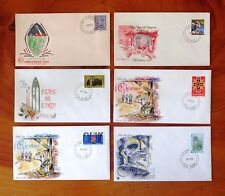 VINTAGE FIRST DAY COVER LOT RARE OLD POST OFFICE STAMPS 1962-1977 - FREE POST
