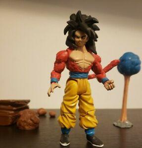 Dragon Ball Gt Jakks Super Saiyan 4 Goku (From Trilogy 2 Pck) Good Face Sculpt