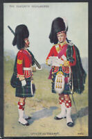 Military Postcard - The Seaforth Highlanders, Ross-shire Buffs   RS15062