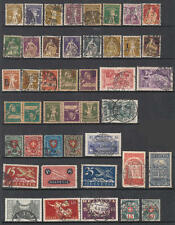 Switzerland 1907-30 hi val selection 33 diff used stamps cv $188