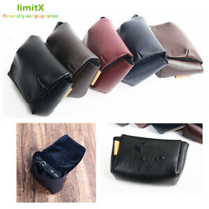 Water Resistant PU Leather Compact Digital Camera Bag Case Sleeve for Fujifilm