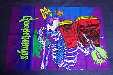 Funda de almohada de colección Goosebumps años 90 * R.l. Stine esqueleto momia Horror Vintage