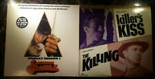 Stanley Kubrick 2 Laserdisc Lot The Killing Killer's Kiss Clockwork Orange