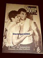 ARGENTINA SOUTH AMERICAN CHAMPION 1957 vs BRAZIL ORIGINAL River Magazine #646