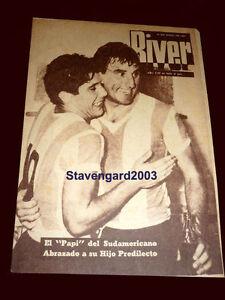 ARGENTINA SOUTH AMERICAN CHAMPION 1957 vs BRAZIL ORIGINAL River Magazine #646