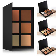 6 Couleurs set Maquillage Poudre Glow Contour Kit Bronzer Highlighter Palette