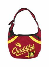 Harry Potter WB Quidditch Game Snitch 07 Varsity School Hobo Tote Bag Purse New