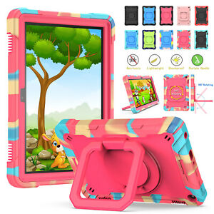 Kids Shockproof Heavy Duty Stand Strap Case Hard Cover For Amazon Fire HD8 2020