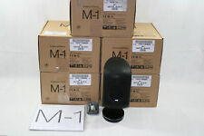 Set of 5 B&W Bowers & Wilkins M-1 Mini Theater Speakers Black - Excellent!