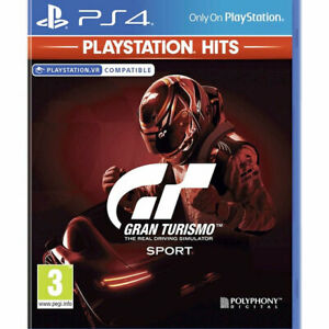 Gran Turismo Sport PS4 (GT Sport) UK VERSION VR Compatible - New and Sealed