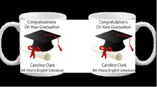 CONGRATULATIONS ON YOUR GRADUATION PERSONALISED MUG CUP NOVELTY 226