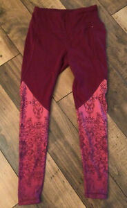 Women's Calia By Carrie Underwood Leggings/pants.XS.New With Tags/Maroon