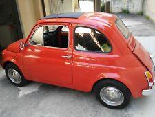 AUTO PRIVATO USATO - FIAT 500L ARANCIO - ANNO IMMATRICOLAZIONE 1972 - ASI -