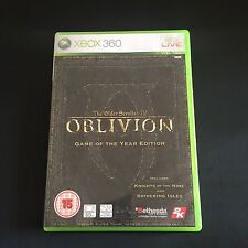 The Elder Scrolls IV Oblivion Game of the Year Edition Microsoft Xbox 360 UK PAL