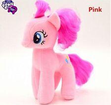 "Brand New 18CM 7"" My Little Pony Pink Plush Doll Toy Teddy Unicorn Horse GIFT"