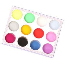 Nagel Kunst Acryl  Pulver Acrylpuder Tips Nail  Acryl Pulver Kit 12 Farben Neu