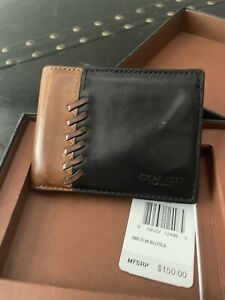 Coach Leather Mens Wallet