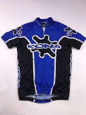 KONA Racing Cycling Jersey Small Blue Mountain Biking Bike Shirt